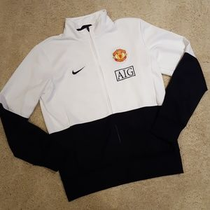 Nike Manchester United Soccer zip jacket